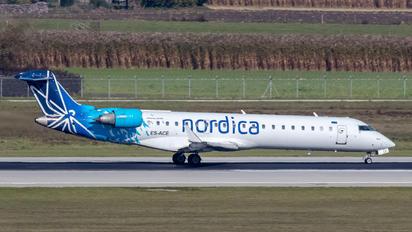 ES-ACE - Nordica Bombardier CRJ-700