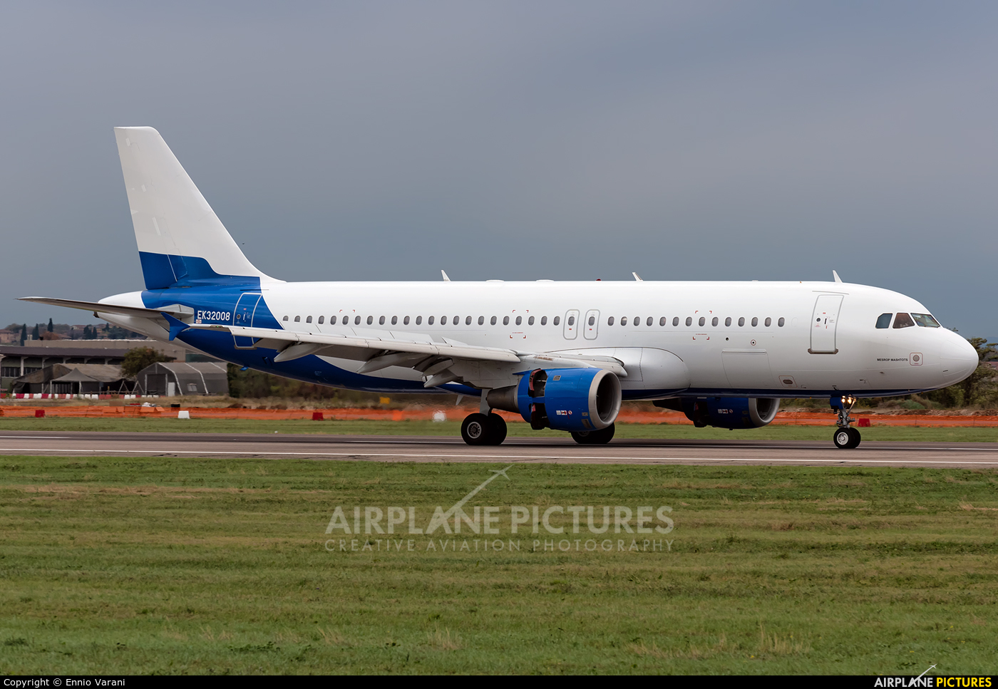 Atlantis European Airways EK32008 aircraft at Verona - Villafranca
