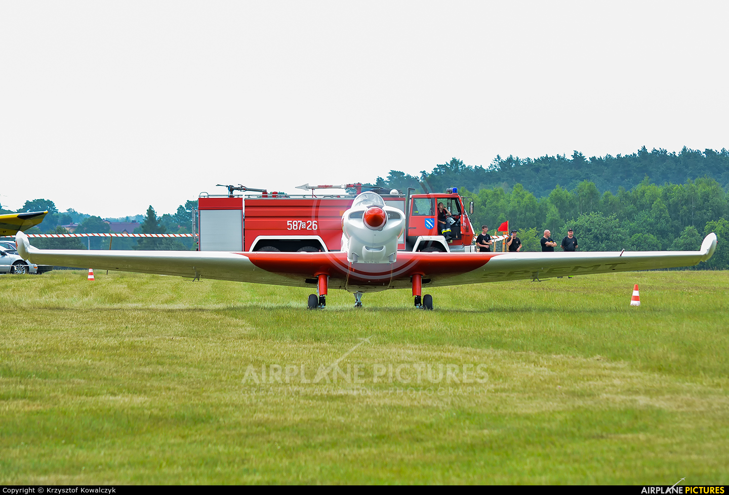 Aeroclub ROW SP-EMT aircraft at Rybnik - Gotartowice