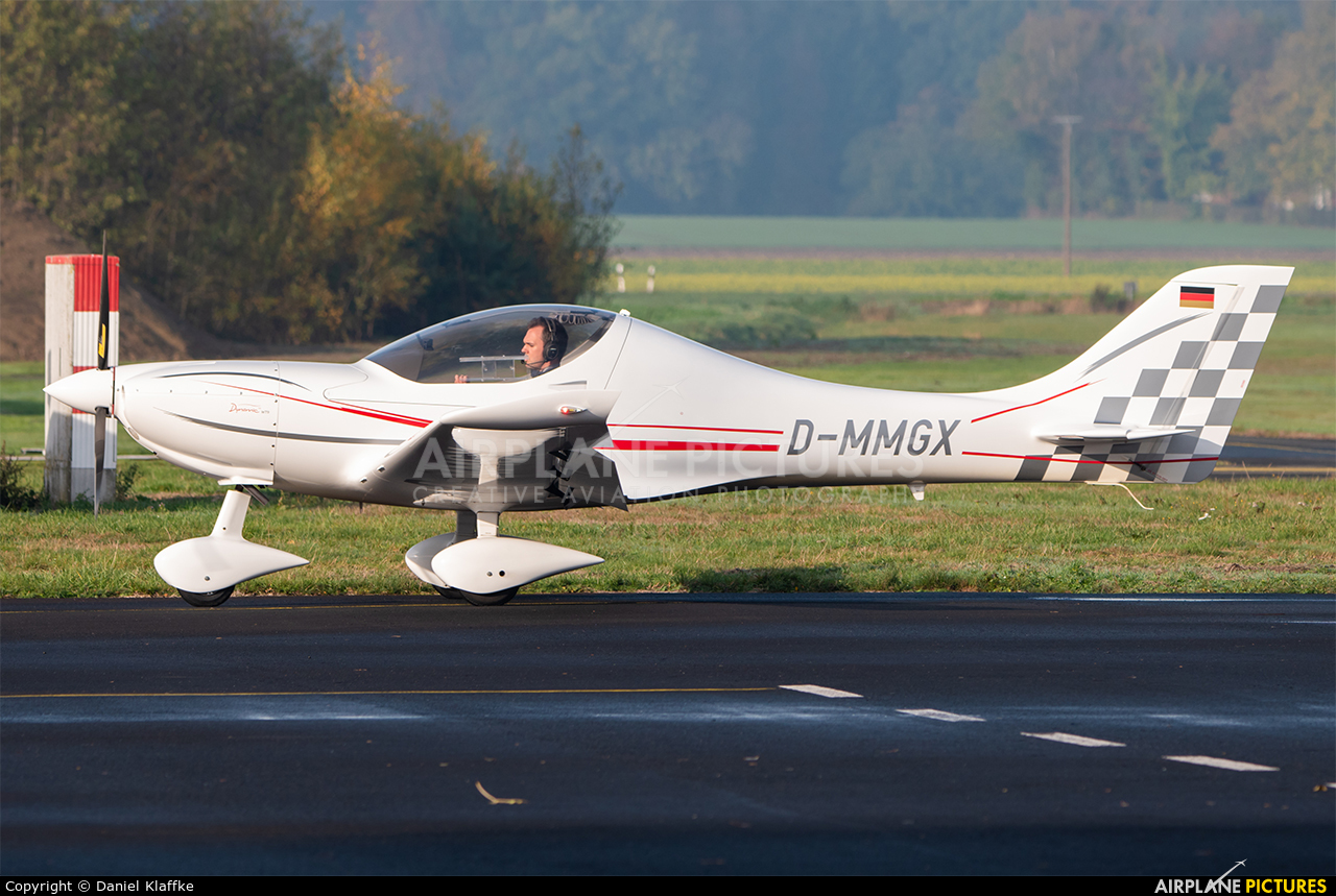 Private D-MMGX aircraft at Munster - Telgte
