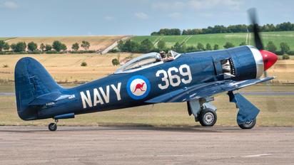 F-AZXL - Private Hawker Sea Fury FB.11