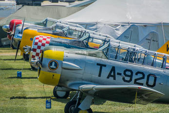 N163TX - Private North American T-6G Texan
