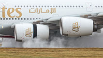 A6-EUI - Emirates Airlines Airbus A380 aircraft