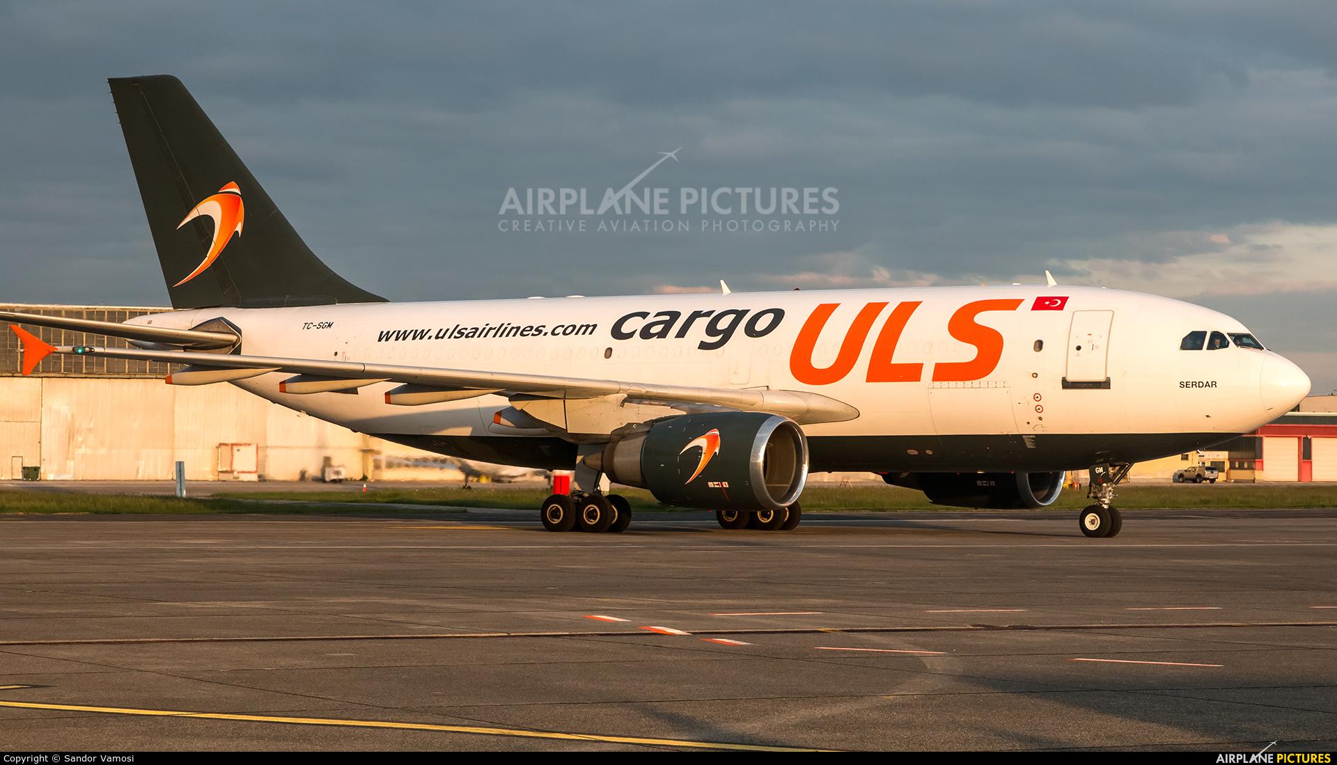 ULS Cargo TC-SGM aircraft at Budapest Ferenc Liszt International Airport