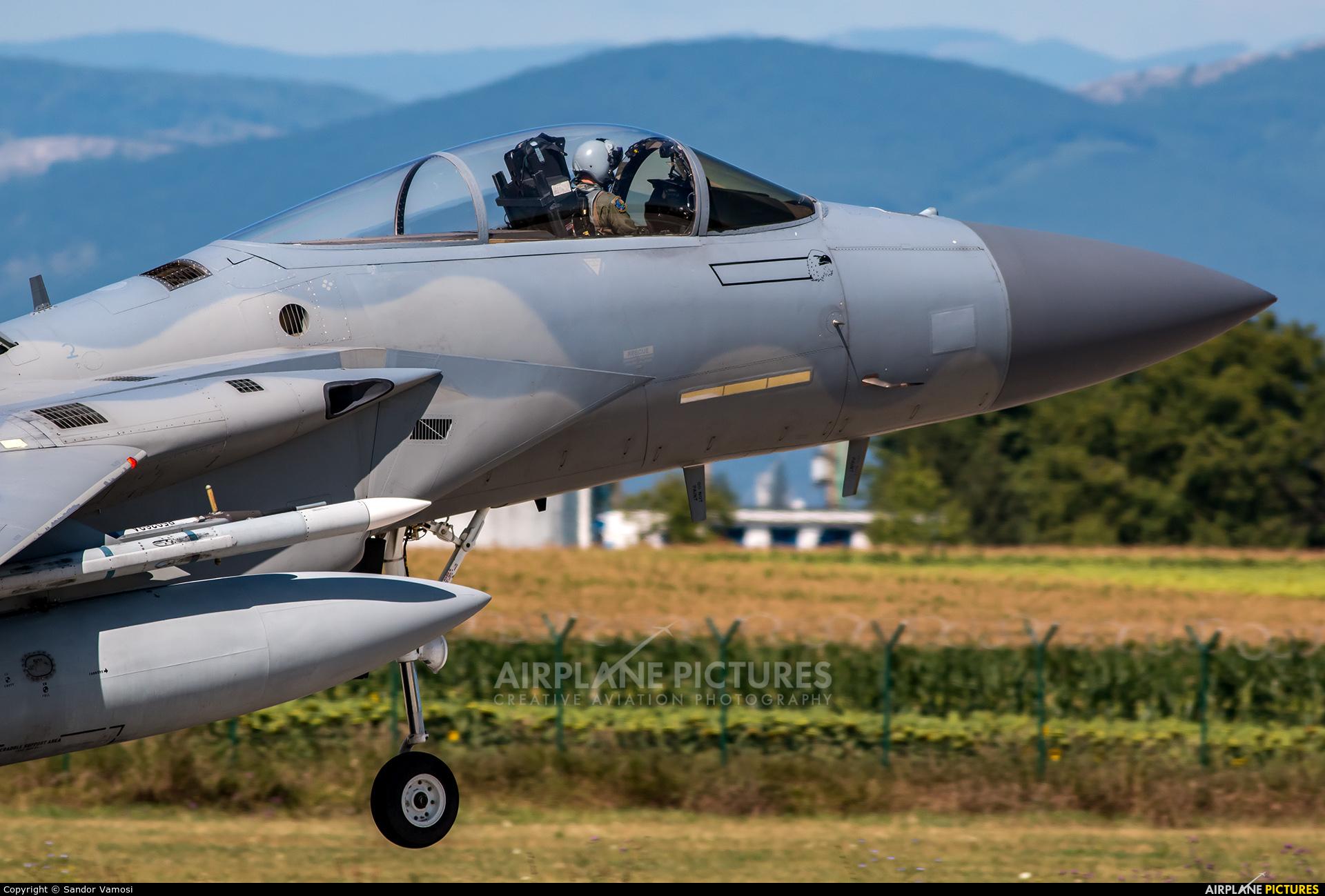 USA - Air National Guard 86-0155 aircraft at Câmpia Turzii