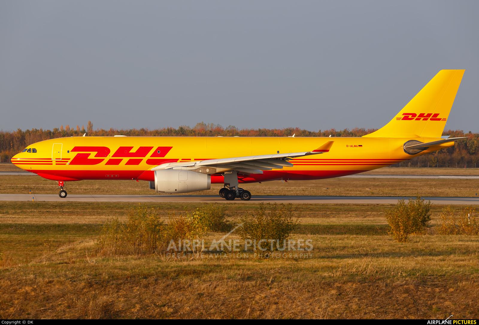 European Air Transport D-ALMA aircraft at Leipzig - Halle