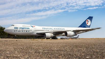 SX-FIN - Sky Express Aircargo Boeing 747-200F