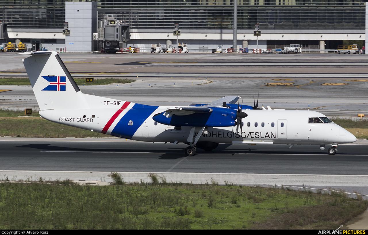 Iceland - Coast Guard TF-SIF aircraft at Málaga