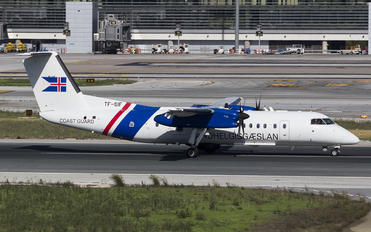 TF-SIF - Iceland - Coast Guard de Havilland Canada DHC-8-300Q Dash 8
