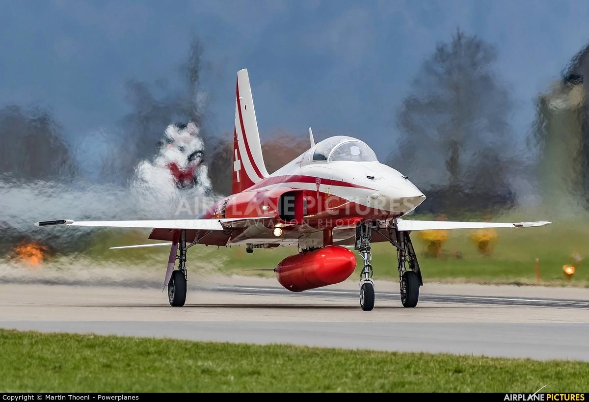 Switzerland - Air Force J-3089 aircraft at Meiringen