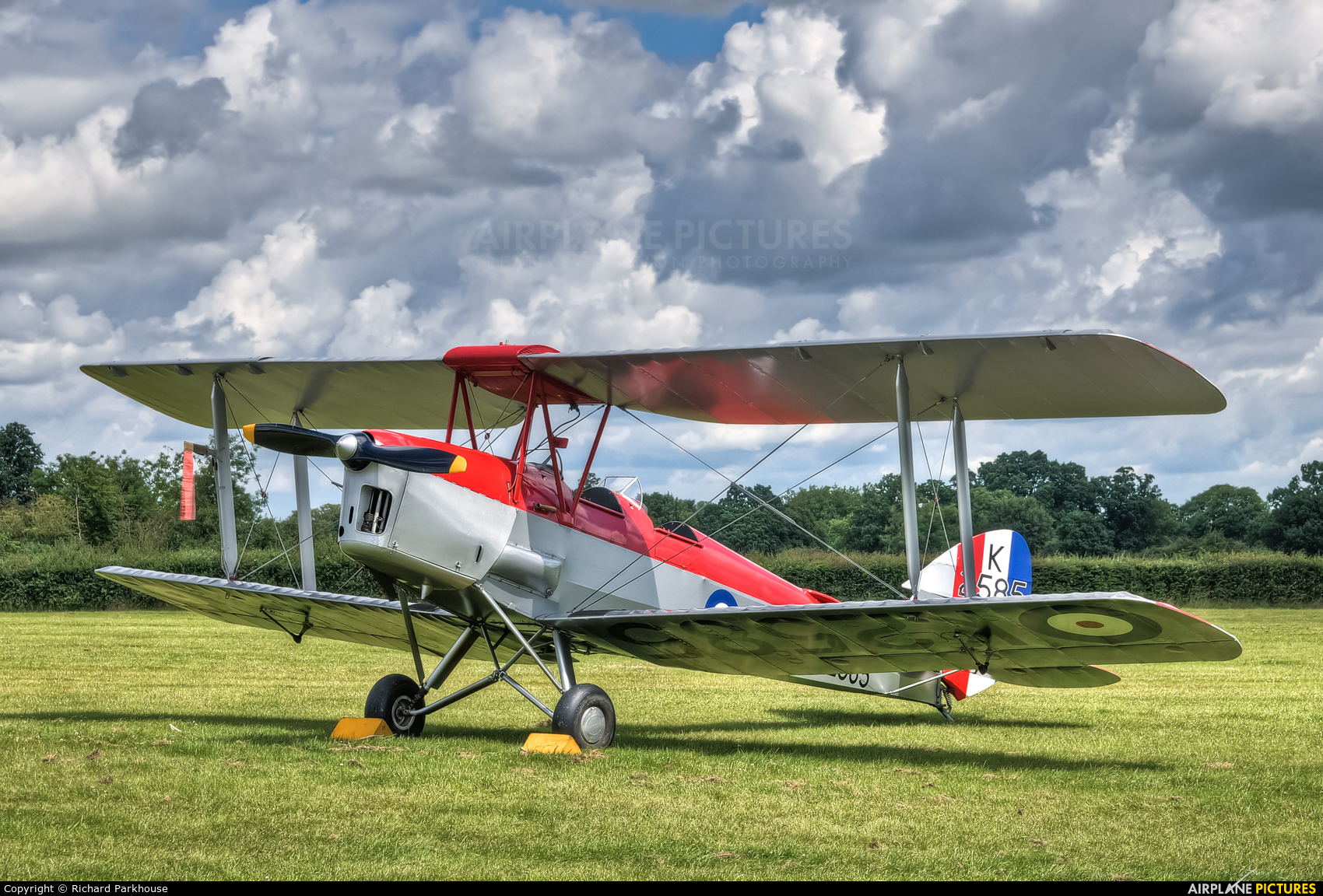 The Shuttleworth Collection G-ANKT aircraft at Old Warden