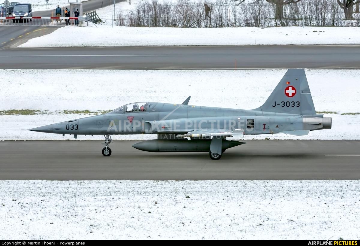 Switzerland - Air Force J-3033 aircraft at Meiringen