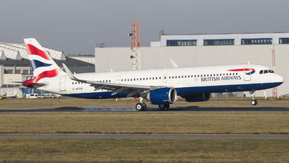 G-NEOR - British Airways Airbus A321 NEO