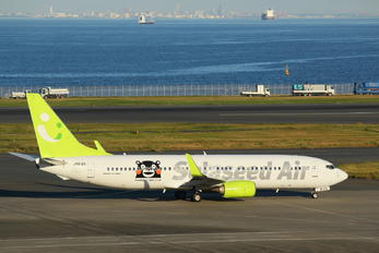 JA812X - Solaseed Air - Skynet Asia Airways Boeing 737-800