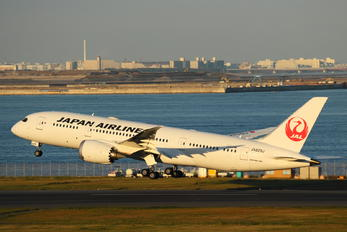 JA829J - JAL - Japan Airlines Boeing 787-8 Dreamliner
