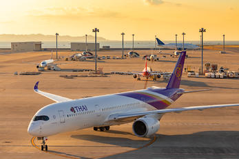HS-THE - Thai Airways Airbus A350-900