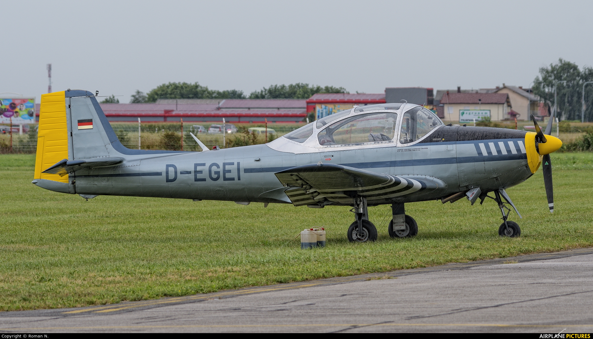 Private D-EGEI aircraft at Varazdin