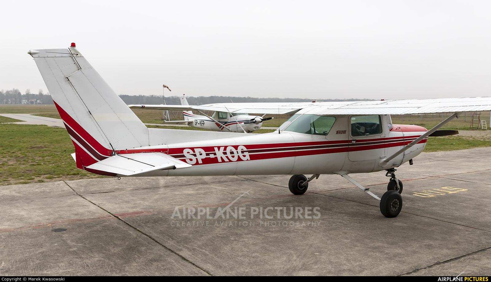 Private SP-KOG aircraft at Warsaw - Babice