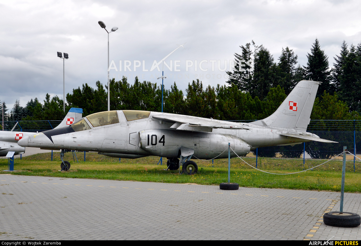 Poland - Air Force 104 aircraft at Dęblin - Museum of Polish Air Force