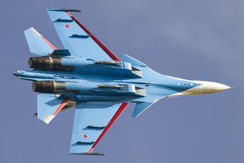 "RF-81702 - Russia - Air Force ""Russian Knights"" Sukhoi Su-30SM"