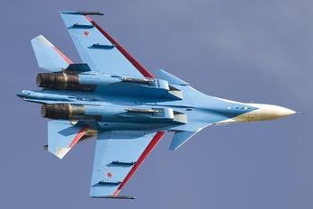 "RF-81702 - Russia - Air Force ""Russian Knights"" Sukhoi Su-30SM"