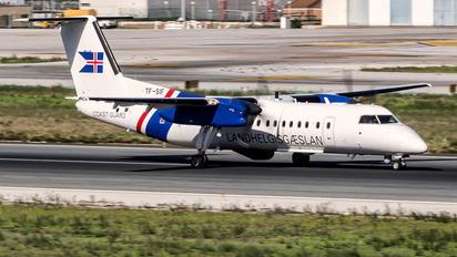 TF-SIF - Iceland - Coast Guard de Havilland Canada DHC-8-300Q Dash 8
