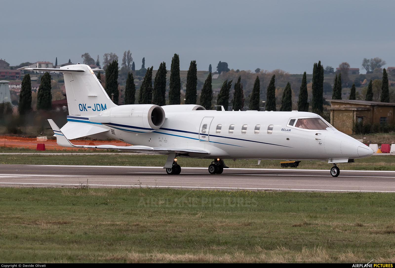 ABS Jets OK-JDM aircraft at Verona - Villafranca