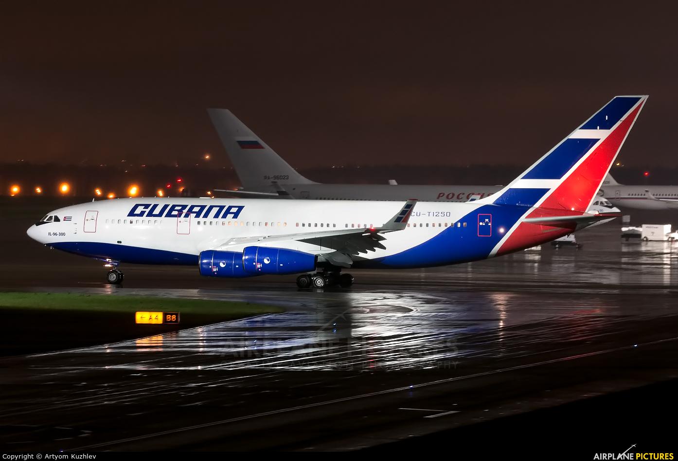 Cubana CU-T1250 aircraft at Moscow - Vnukovo