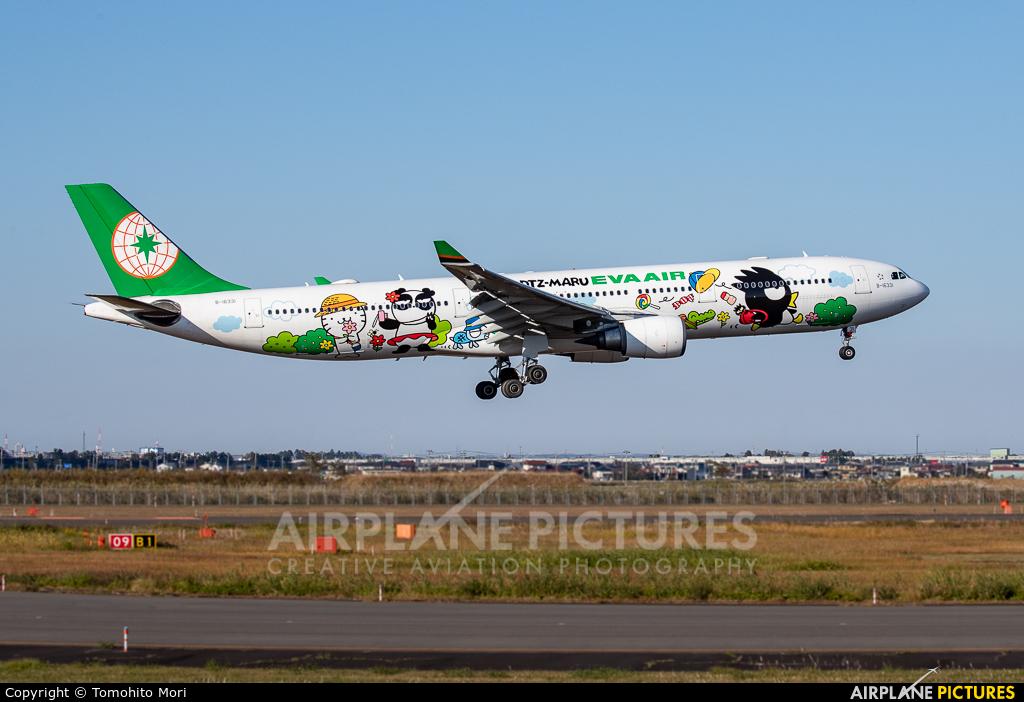 Eva Air B16331 aircraft at Sendai