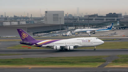 HS-TGG - Thai Airways Boeing 747-400