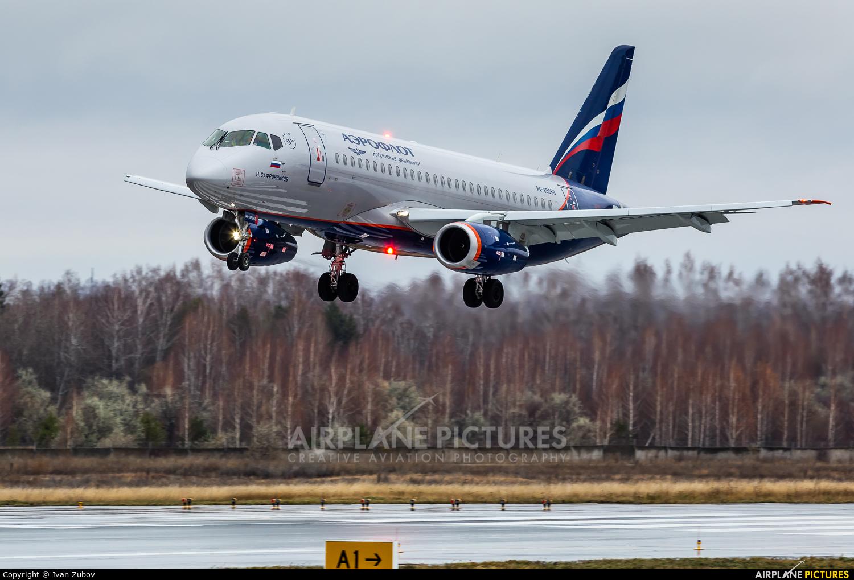 Aeroflot RA-89058 aircraft at Ulyanovsk - Baratayevka
