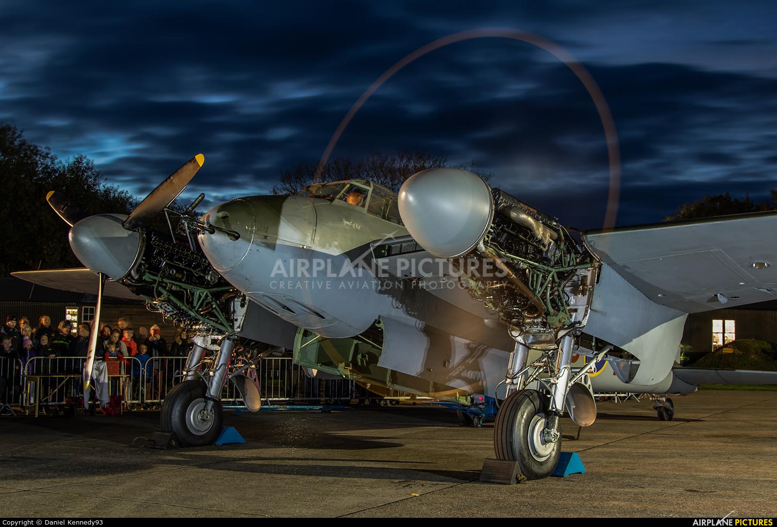 Royal Air Force HJ711 aircraft at East Kirkby