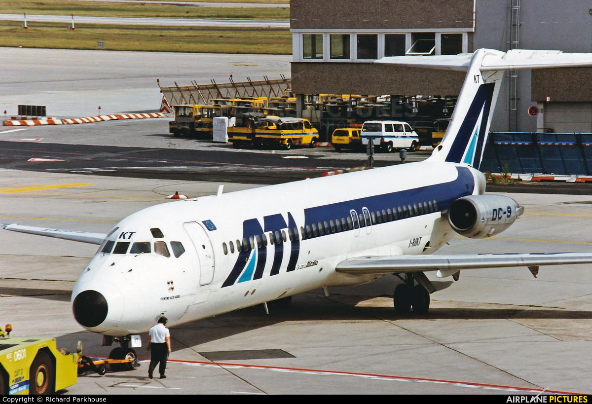 ATI - Aero Transporti Italiani I-RIKT aircraft at Frankfurt
