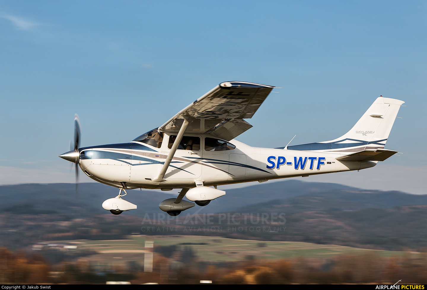 Private SP-WTF aircraft at Nowy Targ