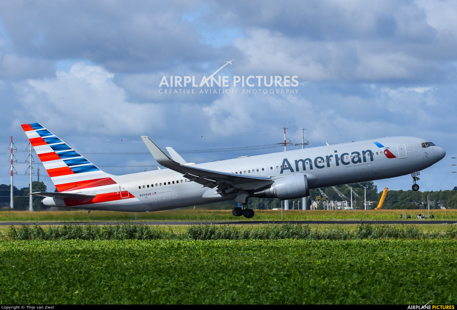 American Airlines N399AN aircraft at Amsterdam - Schiphol