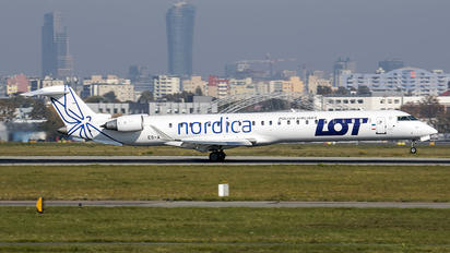 ES-ACJ - LOT - Polish Airlines Bombardier CRJ 900ER
