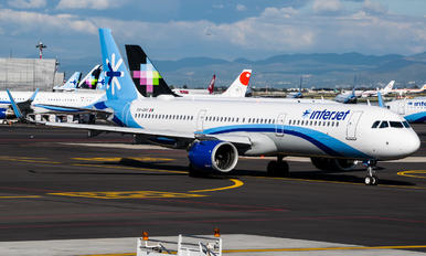 XA-DBR - Interjet Airbus A321 NEO