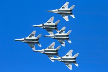 "- - Russia - Air Force ""Strizhi"" Mikoyan-Gurevich MiG-29UB"