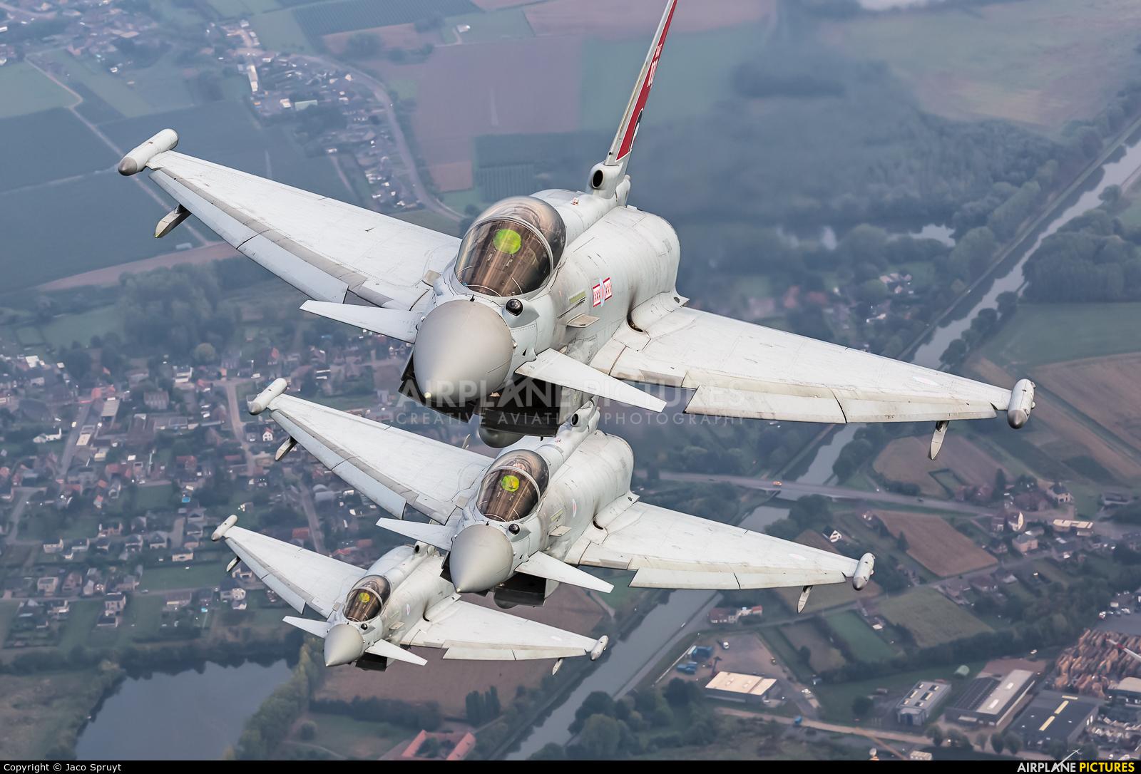 Royal Air Force ZK318 aircraft at In Flight - Belgium