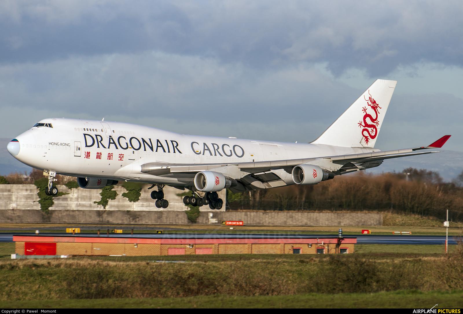 Dragonair Cargo B-KAE aircraft at Manchester