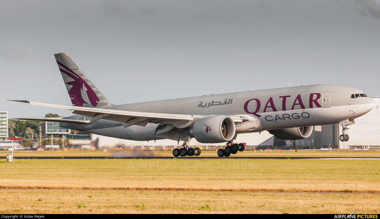 Qatar Airways Cargo A7-BFE aircraft at Amsterdam - Schiphol