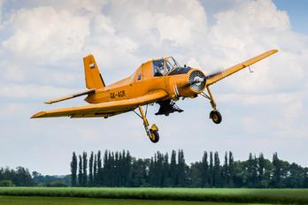 OK-AGR - Agroair Zlín Aircraft Z-37A Čmelák