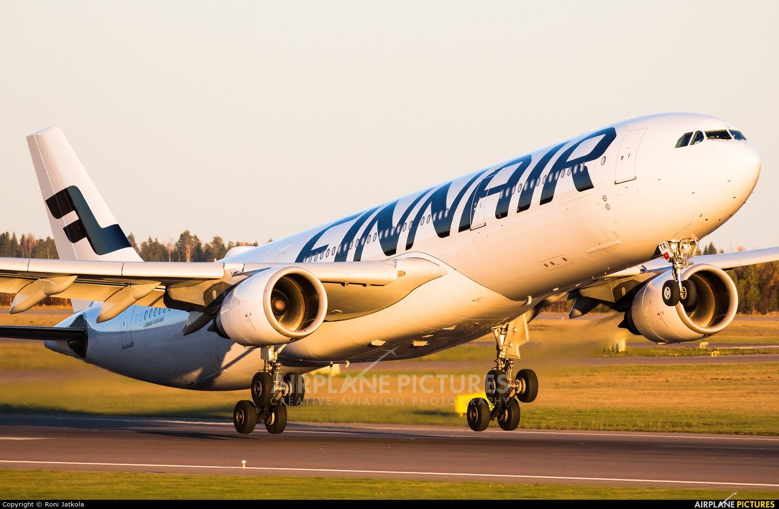 Finnair OH-LTR aircraft at Helsinki - Vantaa