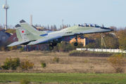"55 - Russia - Air Force ""Strizhi"" Mikoyan-Gurevich MiG-29UB aircraft"