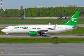 EZ-A015 - Turkmenistan Airlines Boeing 737-800