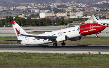 EI-FJV - Norwegian Air International Boeing 737-800