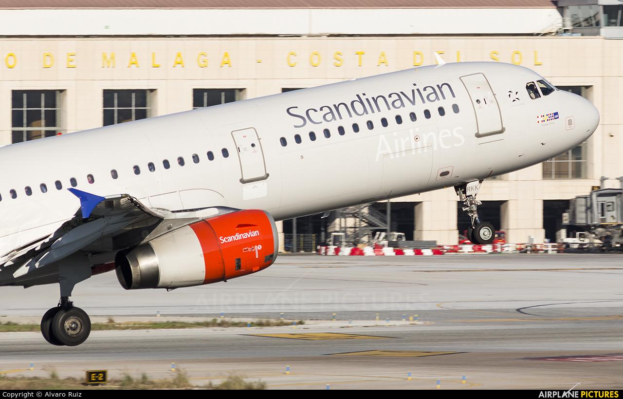 SAS - Scandinavian Airlines LN-RKK aircraft at Málaga