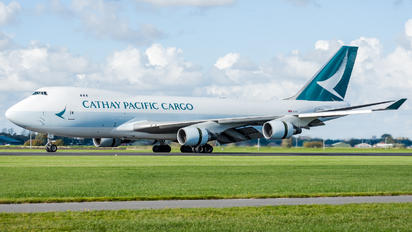B-LIA - Cathay Pacific Cargo Boeing 747-400F, ERF