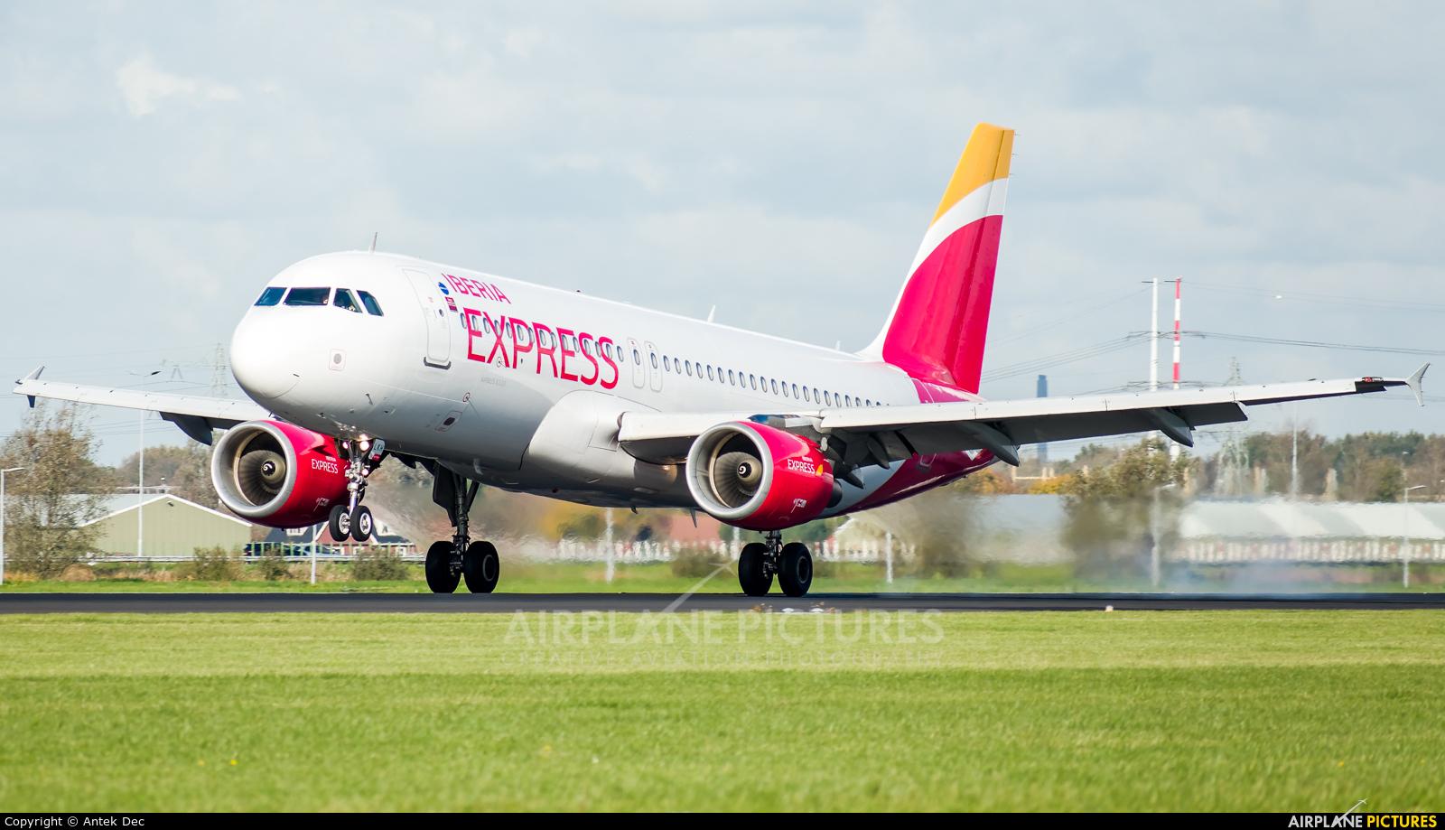 Iberia Express EC-LKH aircraft at Amsterdam - Schiphol