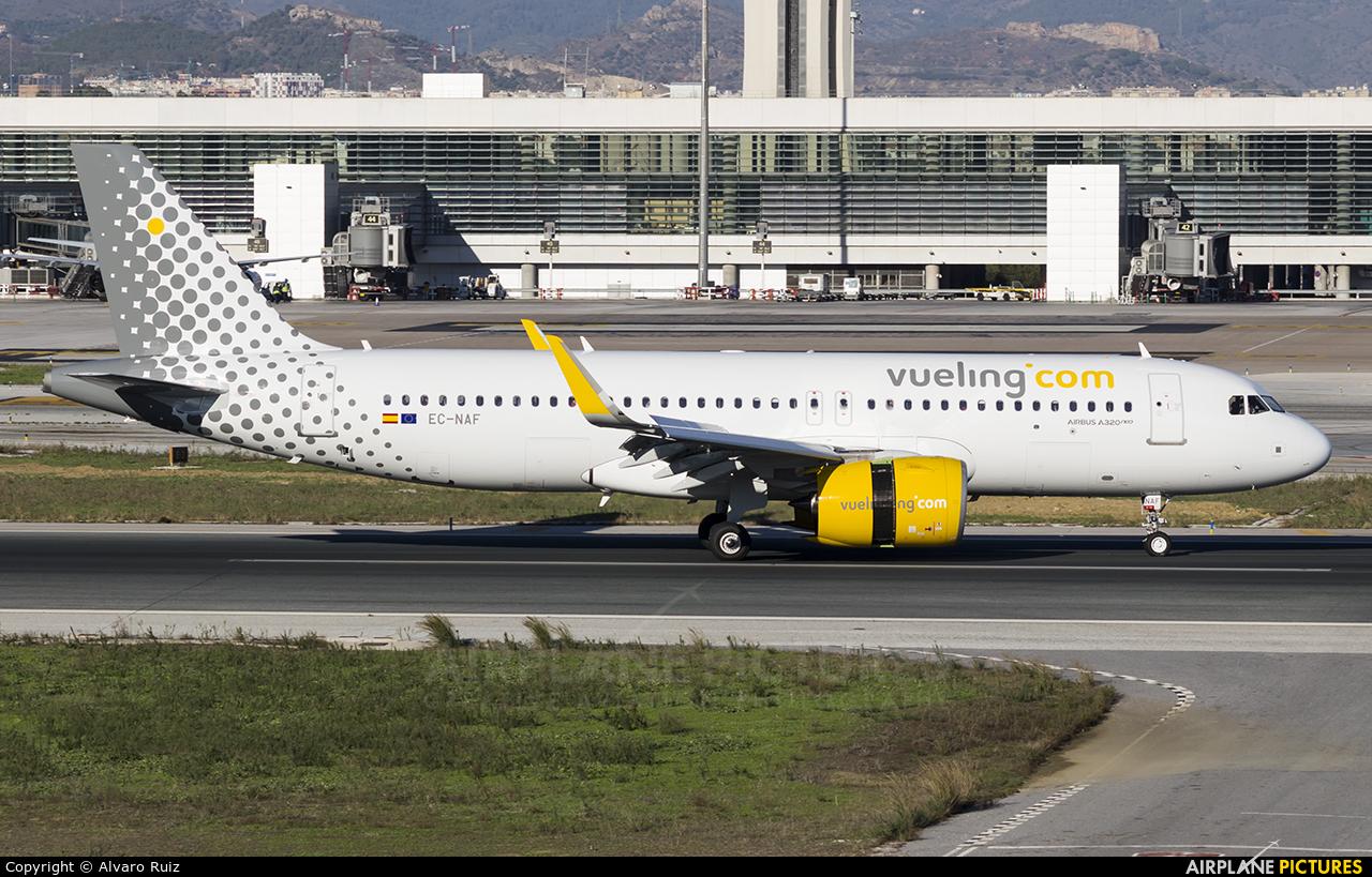 Vueling Airlines EC-NAF aircraft at Málaga